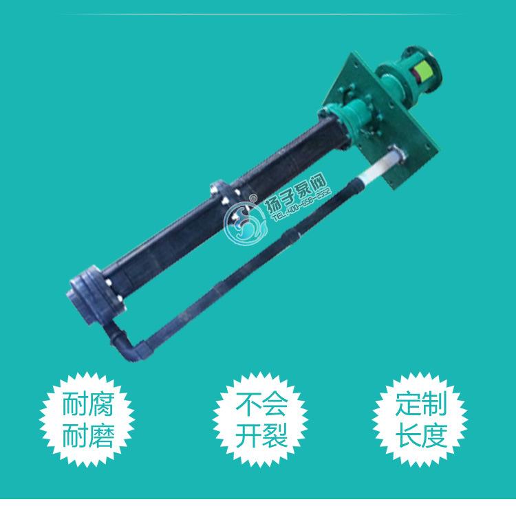 32LHY-20耐腐蚀液下泵 氟塑料液下泵 脱硫泵 脱硝泵 厂家直销示例图4