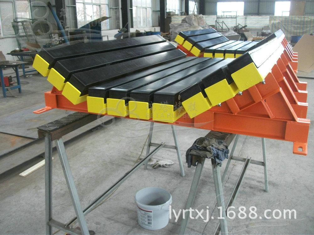 厂家专业生产B1000缓冲床,1m缓冲滑槽,缓冲床安装示例图7