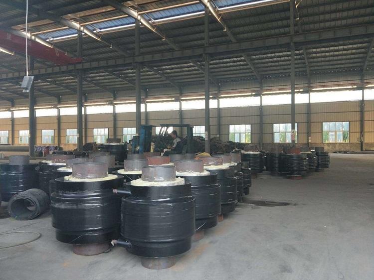 钢套钢直埋保温钢管 供暖用聚氨酯保温钢管 预制聚氨酯保温管厂家示例图6