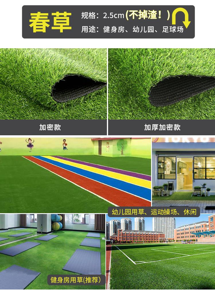 门球场人造草皮 人造草皮厂家 人造草皮操场 人造草皮地面示例图2