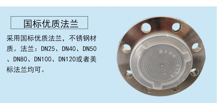 单法兰液位计厂家价格 隔膜式液位计 Hart协议 DN50 DN80示例图4