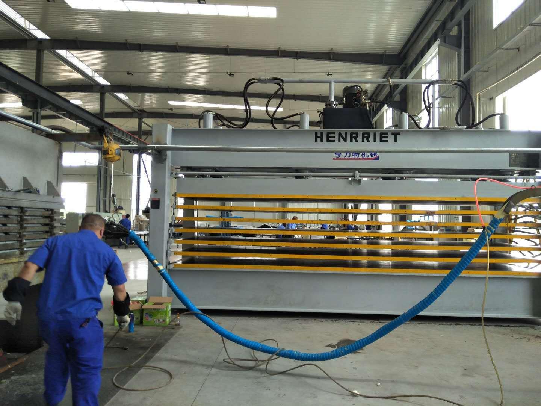 亨力特HLT3248-120T聚氨酯發泡層壓機,熱壓機尺寸非標可以定制示例圖9