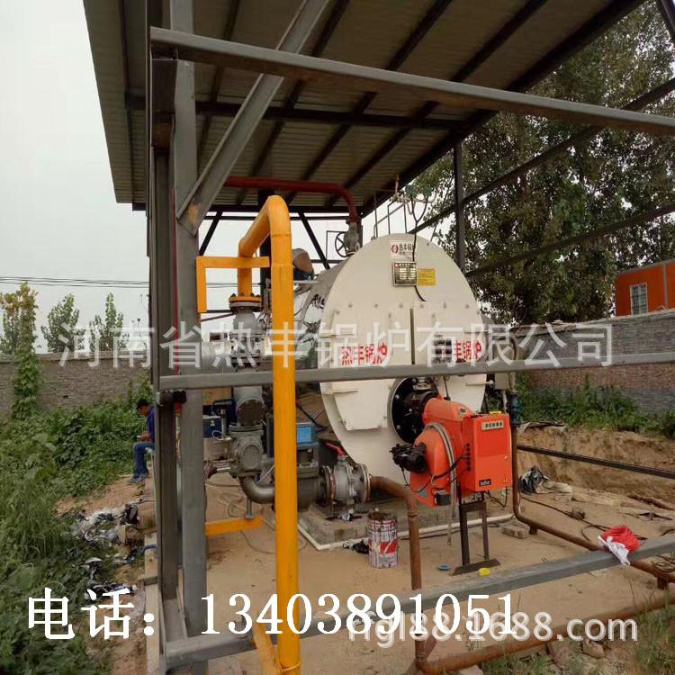 河南热丰太康锅炉,1吨手摇活动燃气锅炉,1吨蒸汽炉价格 燃气锅炉示例图8