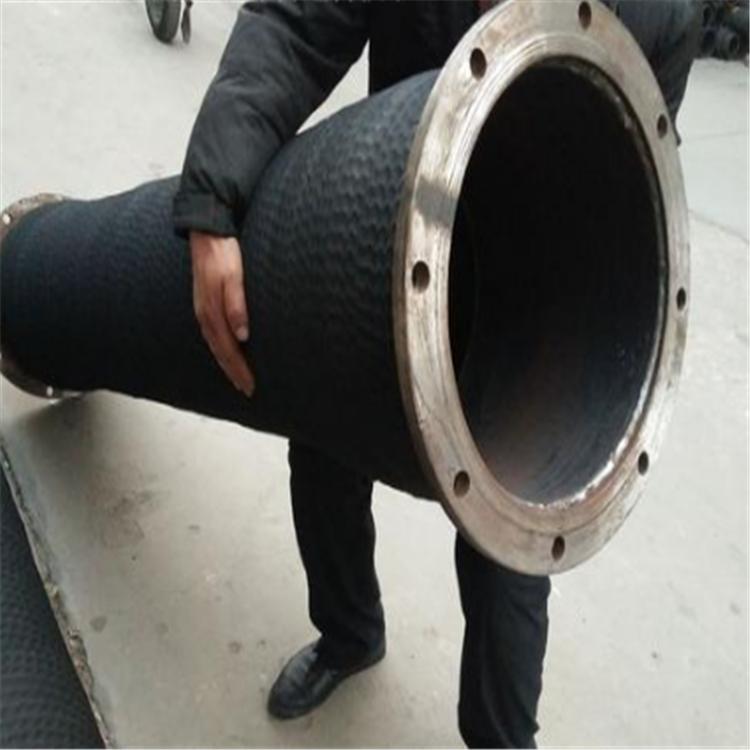 弘创厂家加工大口径夹布胶管 dn350大口径输水胶管 钢丝骨架水龙胶管  质量好示例图5
