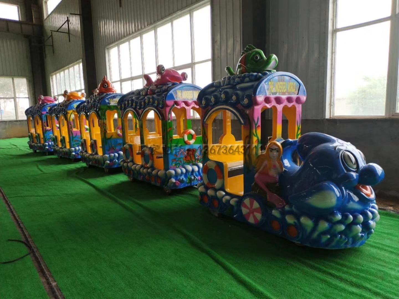2020郑州大洋游乐设备8臂桑巴气球 儿童游乐厂家直销24座桑巴气球项目示例图34