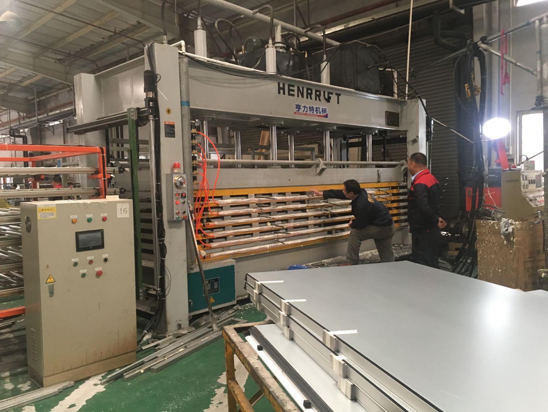亨力特HLT3248-120T聚氨酯發泡層壓機,熱壓機尺寸非標可以定制示例圖15