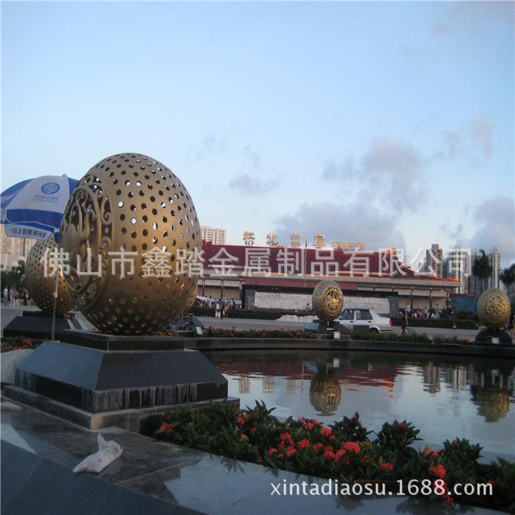 贵阳购物中心广场不锈钢雕塑专业生产厂家示例图12