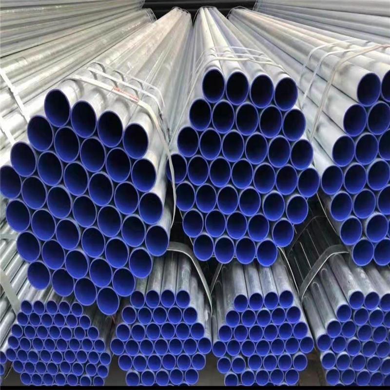 建筑消防涂塑復合鋼管 法蘭連接涂塑復合鋼管 絲扣連接涂塑復合鋼管