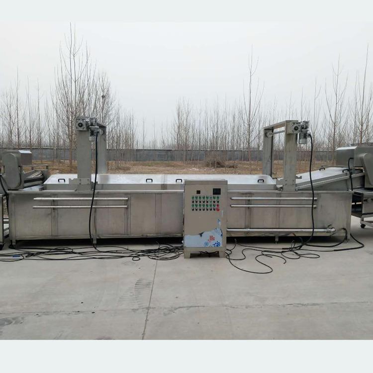 利杰LJYZ-4500薯條薯片油炸流水線 甜甜圈油炸機 全自動油炸流水線 非標定制