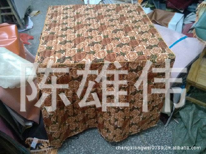 棉桌罩厂家大量供应加厚棉桌罩 防尘棉桌罩 欢迎订购示例图5