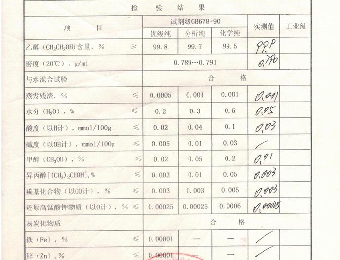 现货供应无水乙醇 工业酒精 95%乙醇现货供应 山东乙醇价格示例图8
