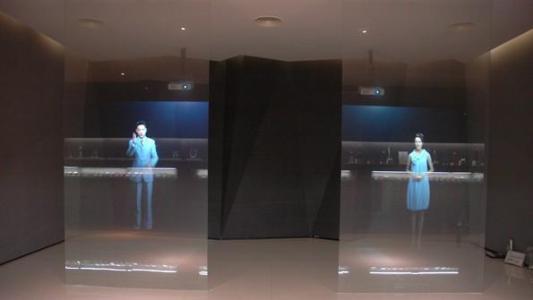 进口全息膜投影 深灰背投膜投影 投影仪配件 厂家直销 量大从优示例图5