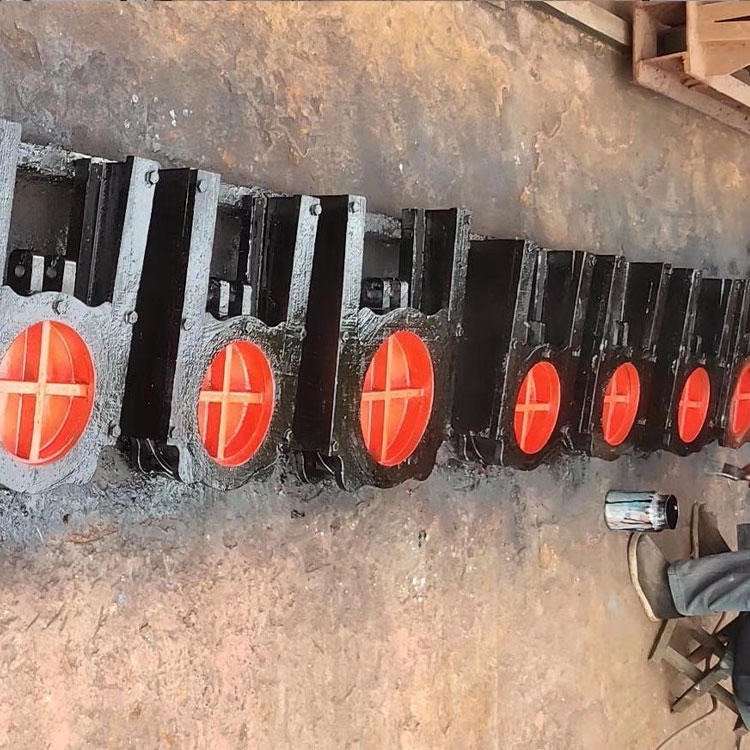 鼎禹铸好不容易有了一个铁方闸门 厂家直销300×300cm铸铁方闸门 手电两用水渠闸门 平面方形闸身为五帝之一门