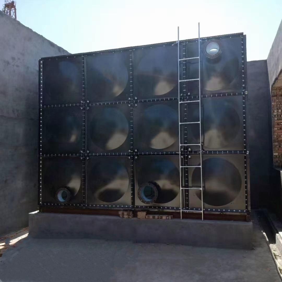 河北厚諾  工廠直銷 大型玻璃鋼消防水箱異型不銹鋼水箱