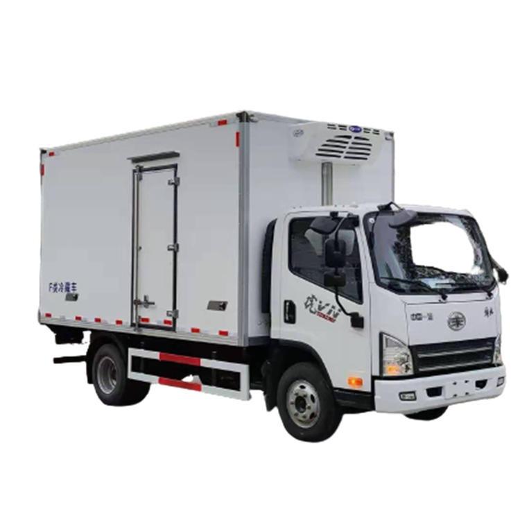 小型冷藏車廠家直銷 國六解放虎VN冷藏車廂式冷藏貨車冷凍車價格