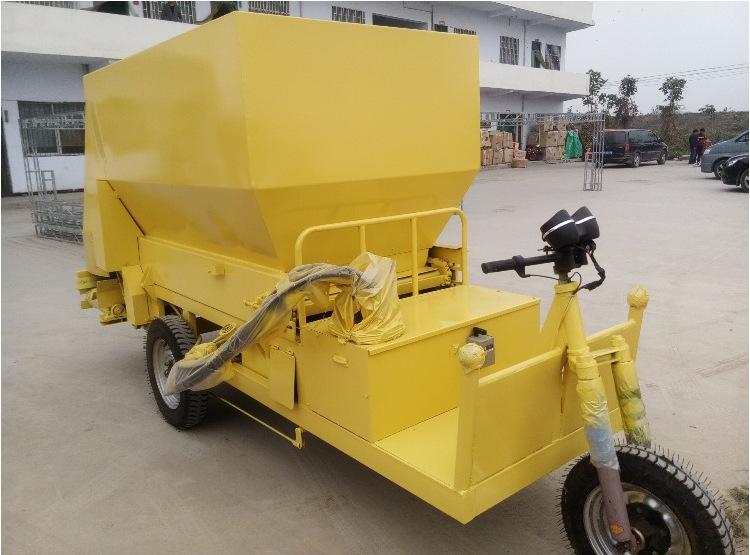 柴油动力撒料车 电动撒料车 养殖饲料撒料车 养殖机械设备撒料车示例图17