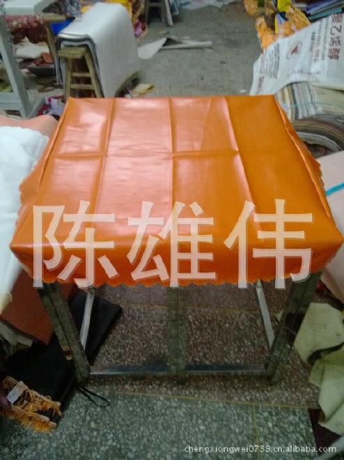 厂家直销皮子桌罩 防水皮革桌布 皮革桌布批发示例图3