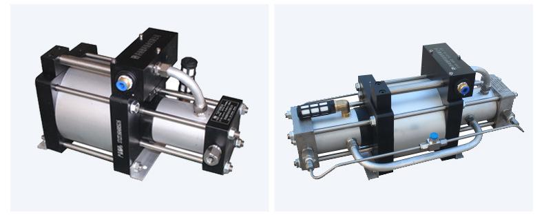 山东欣诺厂家销售工业气体增压泵 耐用保压好 小型气驱气体增压泵示例图13