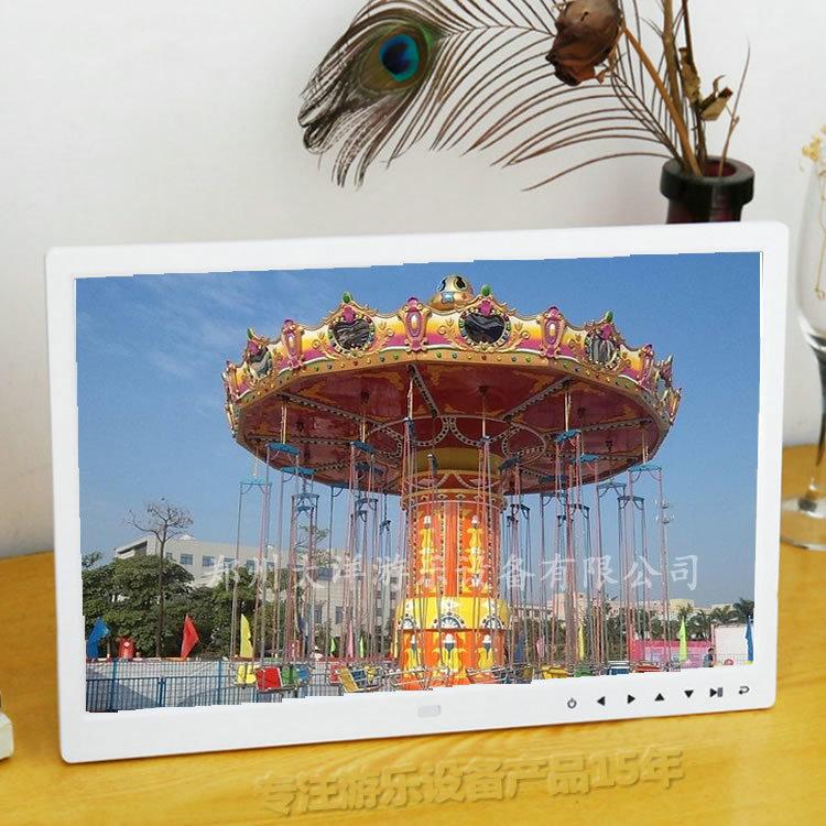 大洋新赚钱神器24座旋转升降飞椅 公园新款游乐项目24座飓风飞椅厂家示例图10