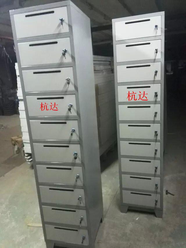 厂家供应定做10门信报箱文件柜铁皮更衣柜 1800高430宽400厚示例图28