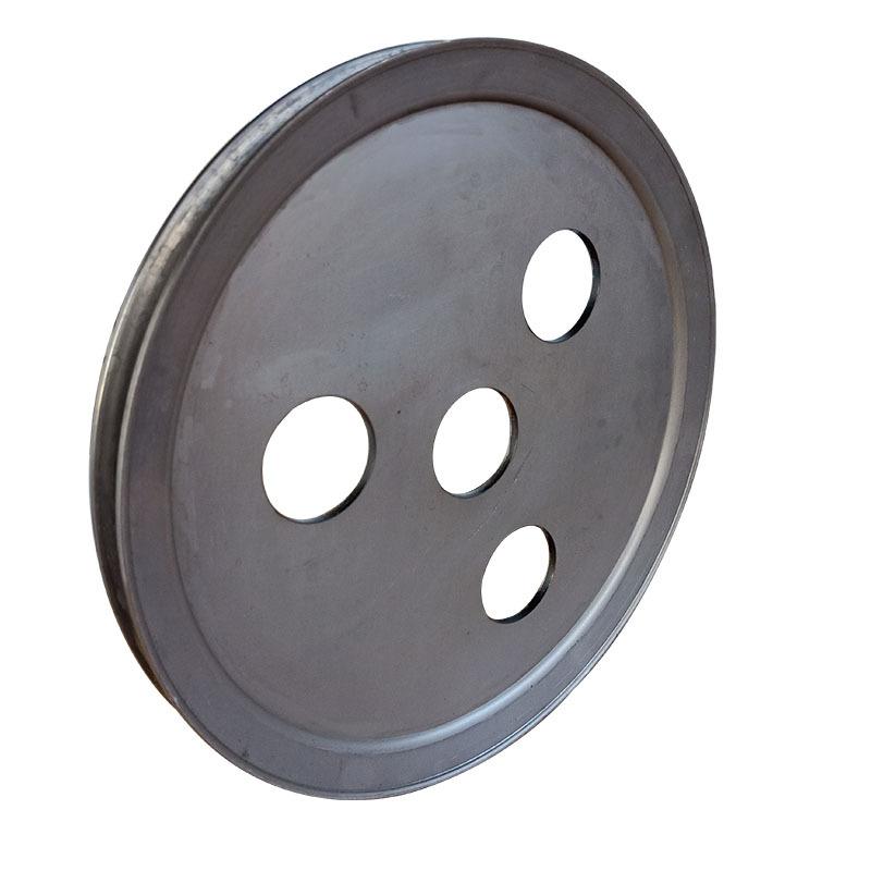 新款v型单槽食品机械皮带轮 平衡度好尺寸精准不易损坏示例图5