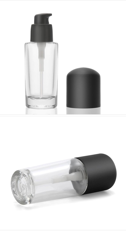 廠家現貨30ml玻璃粉底液瓶 BB霜瓶子 隔離霜瓶 防曬霜瓶 搖搖粉瓶示例圖3