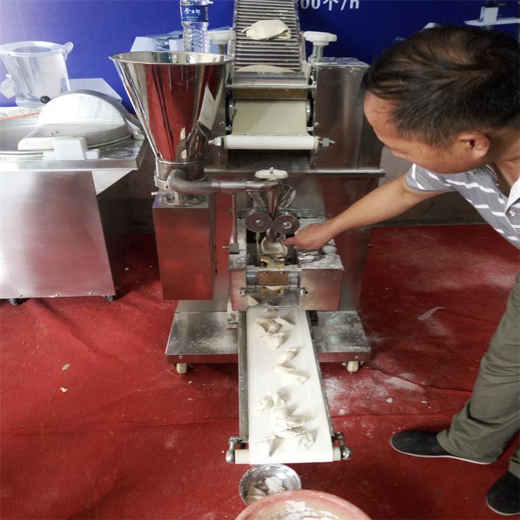 全自动饺子机 仿手工饺子机 小型水饺机 速冻水饺机 商用蒸饺机示例图7