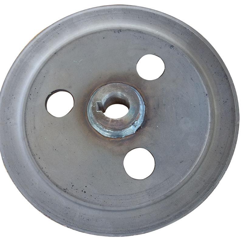 收割机配套专用单槽皮带轮 V型 劈开旋压皮带轮、可加工定制示例图2
