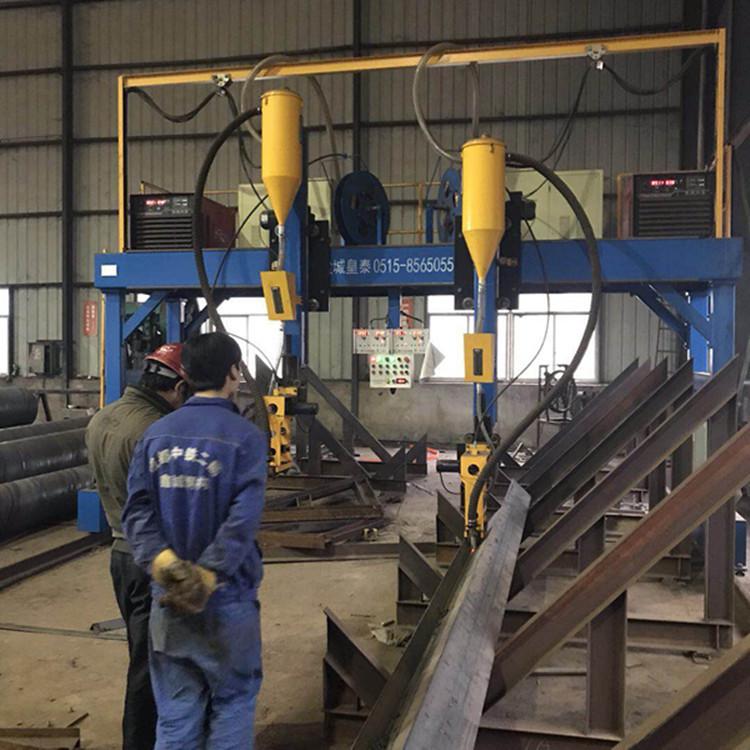 龙门焊维修皇泰H型钢龙门焊定制现货直销江苏厂家钢结构龙门焊示例图6