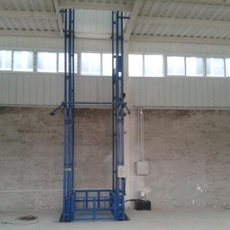 固定链条式升降货梯 壁挂导轨式液压货梯 小型简易货梯 升降货梯示例图13