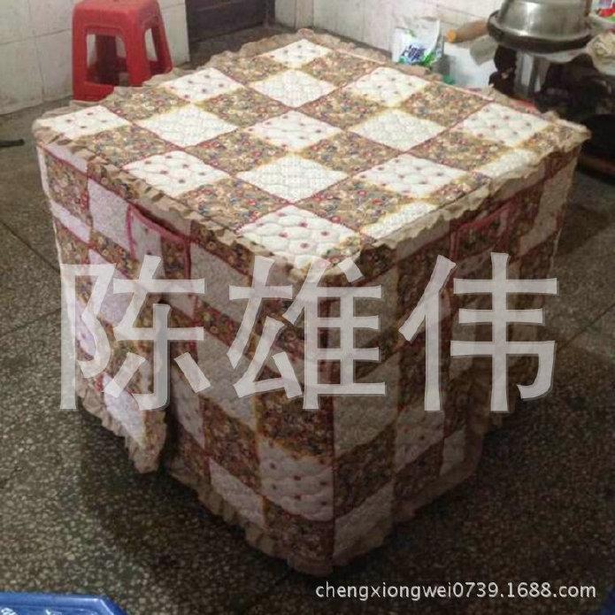 大量供应印花加棉桌布 花纹加棉桌布 家用加棉桌布 价格优惠示例图4