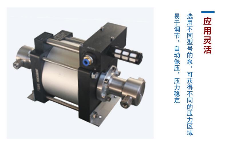 厂家供应小型气液增压泵 轻巧耐用无泄漏 水油各种液体气液增压泵示例图9