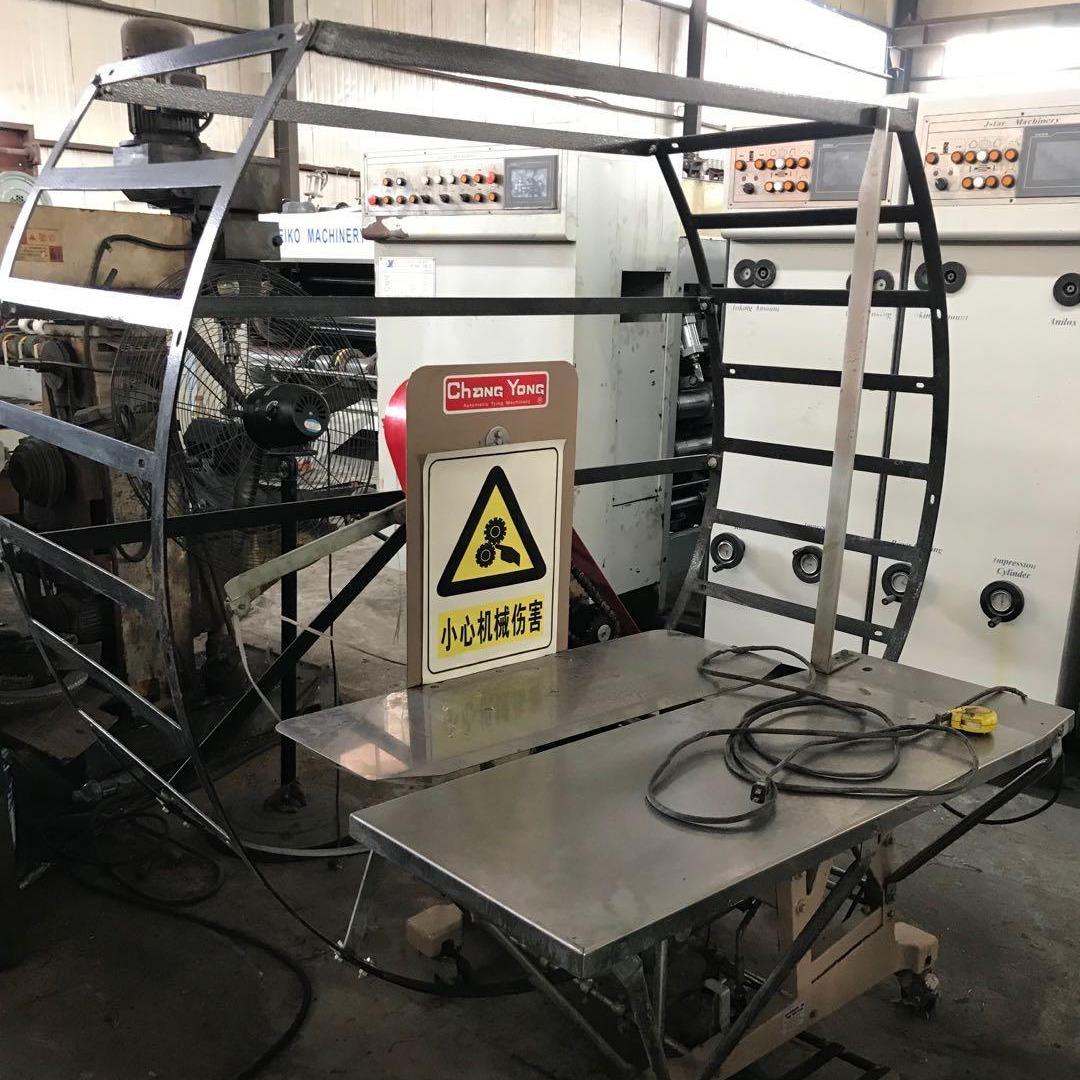 萬國紙箱機械設備 二手打包機 臺灣常用打包機 打捆機 紙箱廠設備