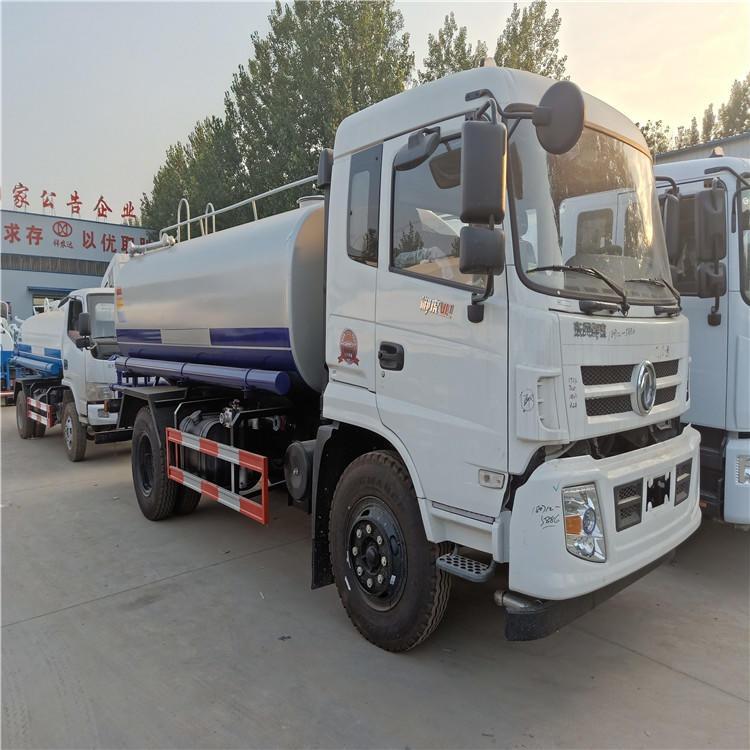 廠家直銷 國五東風多利卡 道路養護灑水車 綠化除塵  霧炮噴灑車