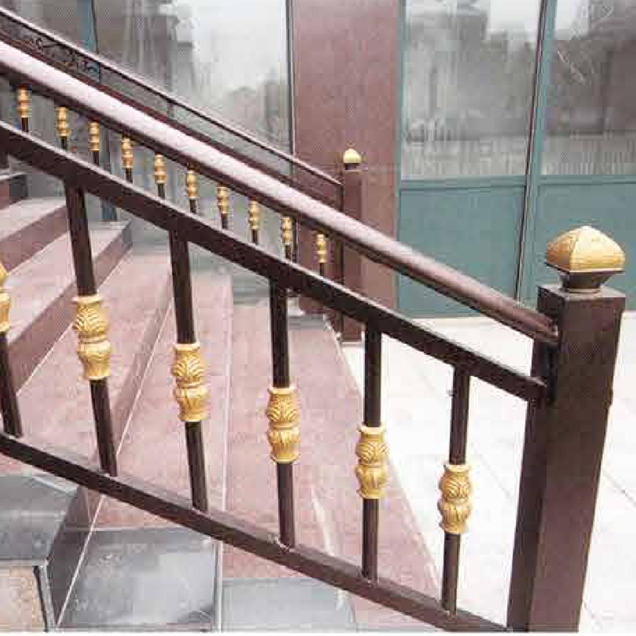 專業生產加工鋁藝護欄,鋅鋼護欄,仿銅格柵,鐵圍欄