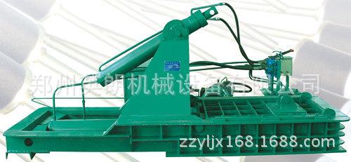 卧式废旧金属液压压块机  铁屑油漆桶压块成型机液压金属打包机示例图16