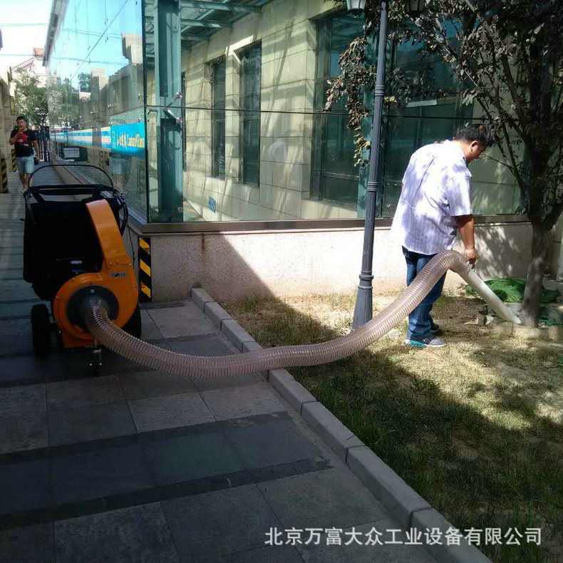 小型吸叶机 高效路面吸叶机 北京多功能吹吸叶机 落叶清扫设备示例图4