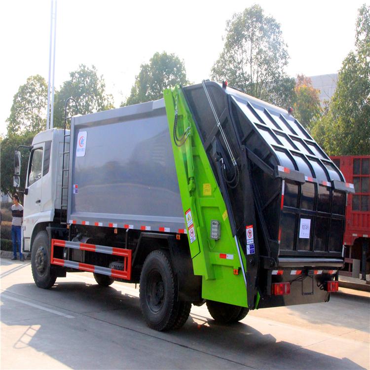 國六5方8方掛桶垃圾車 雅安東風天錦垃圾壓縮車廠家 環衛垃圾回收車 廠家直銷  可分期購買的垃圾清運車