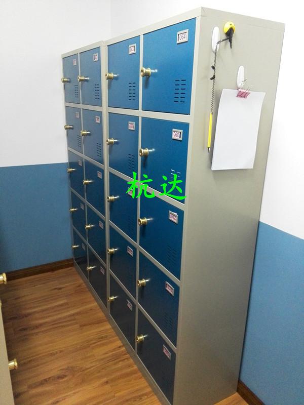厂家供应智能12门-48门指纹存包柜遥控器开门,自己设置一人一门示例图12