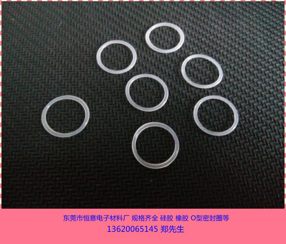 廠家直銷 白色硅膠O型圈 食品級o型密封圈 半透明O型圈示例圖5