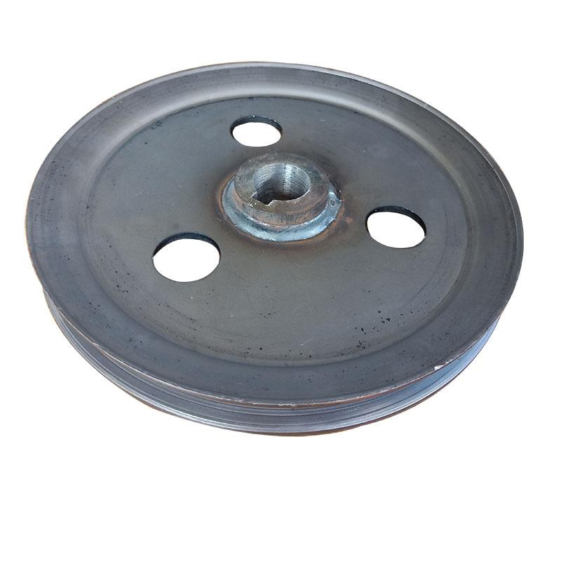 厂家直销优质单槽皮带轮 V型 劈开旋压皮带轮可加工定制示例图5