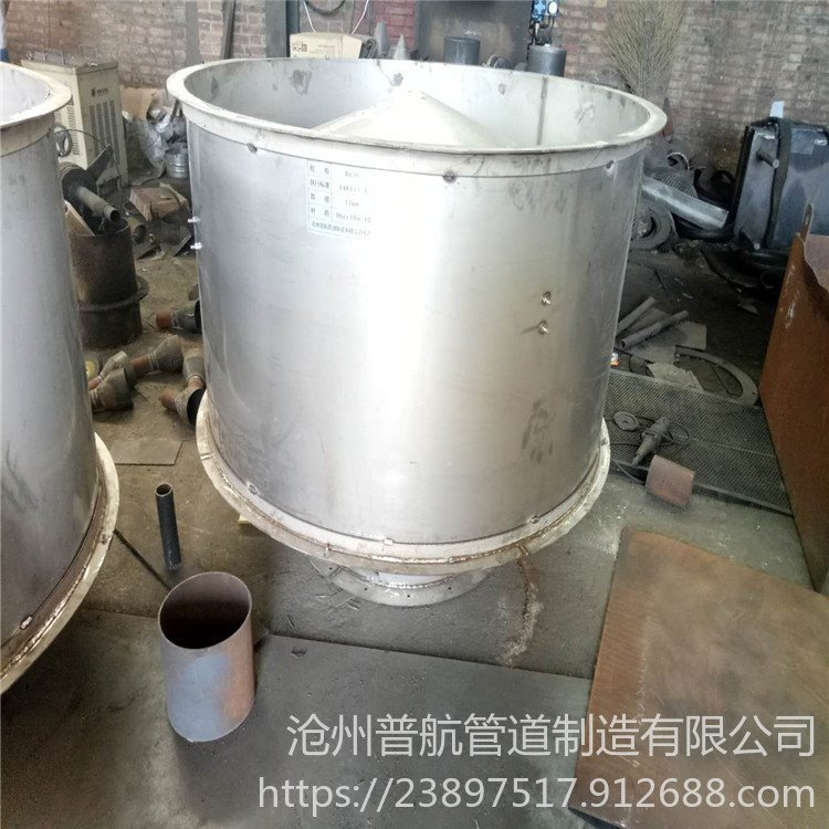 筒形风帽 普航 钢制筒形风帽 D400筒形风帽 生产厂家