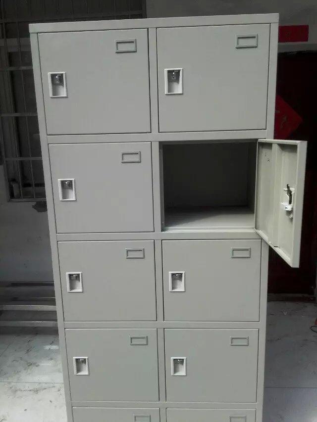 厂家供应定做10门信报箱文件柜铁皮更衣柜 1800高430宽400厚示例图30