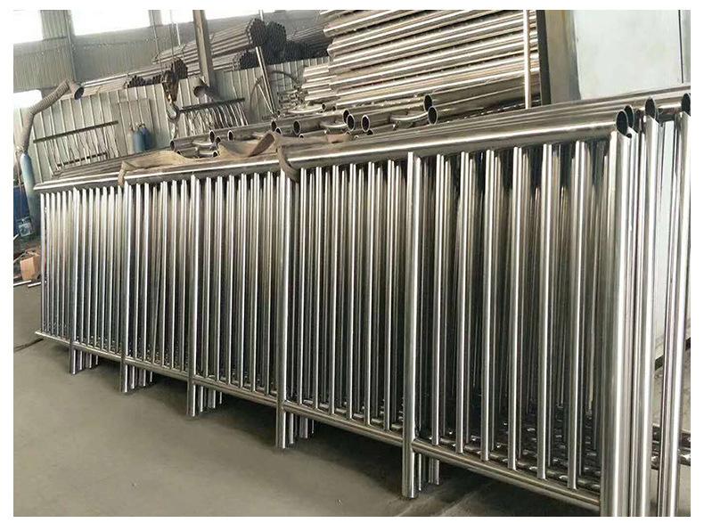 不锈钢复合管护栏围栏高速护栏市政防护栏景观护栏示例图9
