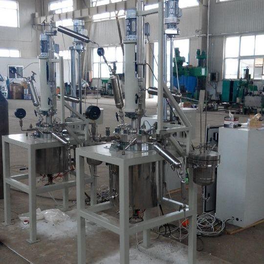 煌恺实验反应釜 反应釜 反应釜配件配套 高压反应釜 磁力反应釜 无梯度反应器连续反应装置厂家直销