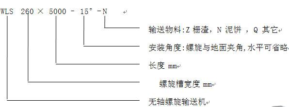 江苏如克WLSY -2601500不锈钢输送机 非标生产不锈钢泥饼输送机示例图1