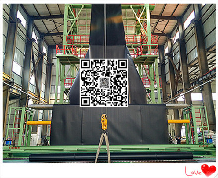 出口美标LLDPE土工膜绿色光面幅宽5.8米长度100米厚度0.50mm示例图3