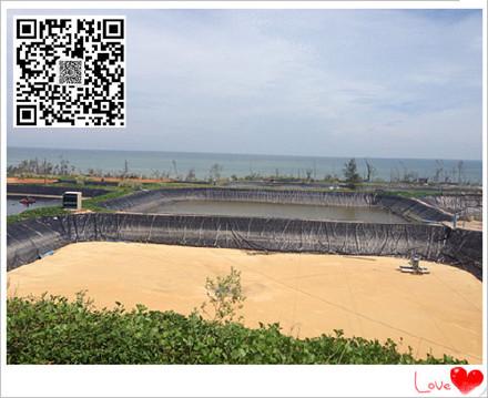 万年县黑膜沼气池建设1.20mmhdpe防渗土工膜价格美标黑色光面厂家优惠促销示例图6