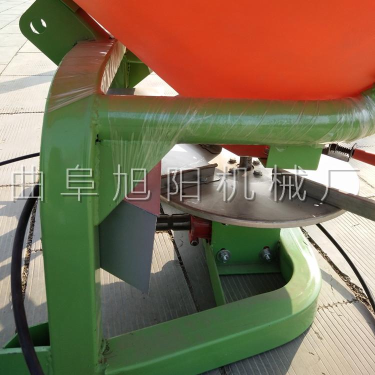 农用后置撒肥机 颗粒肥悬挂撒肥机 传动轴输出撒肥机山东直销示例图4