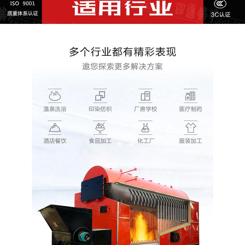 厂家直销生物质颗粒锅炉  烧秸秆锅炉  燃稻壳锅炉示例图8